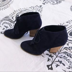 Sole society Tassel Booties